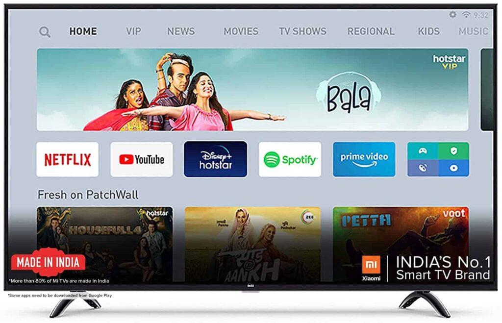Mi TV 4A Horizon 80 cm (32 inches) Smart LED TV