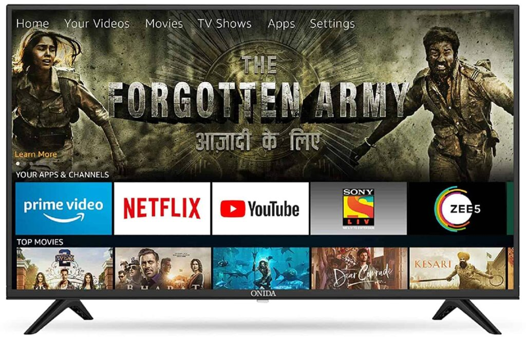 Onida 80 cm (32 Inches) Fire TV Edition LED Smart TV